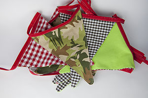 Forest Bunting - bunting & garlands