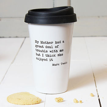 Personalised Mother's Quote Travel Mug