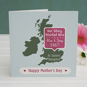 Personalised 'Where Our Story Started' Card - sentimental cards