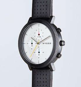 Hygge Chronograph Watch - 21st birthday gifts