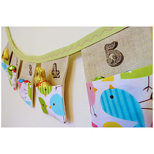Easter Countdown Pocket Bunting - children's room