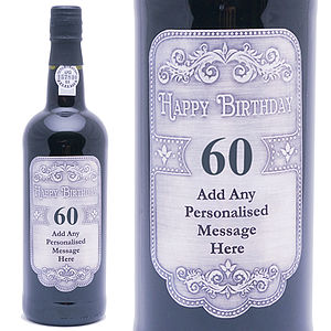 Special Reserve Port With 60th Label