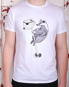 Badger T Shirt - women's fashion