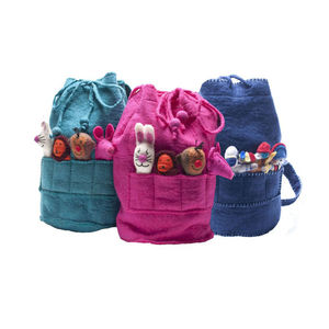 Child's Felt Finger Puppet Rucksack - bags, purses & wallets