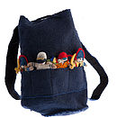 Child's Felt Finger Puppet Rucksack