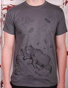 Yum Yum Space Bear T Shirt