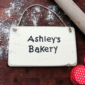 Personalised Kitchen Sign - room decorations