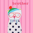 Brother 'Oh Charlie' Card