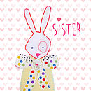 Sister 'Love You Bo' Card