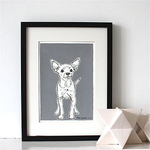 Chihuahua Art Print - animals & wildlife