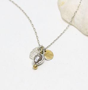 Rough Diamond Pendant With Detail - necklaces & pendants