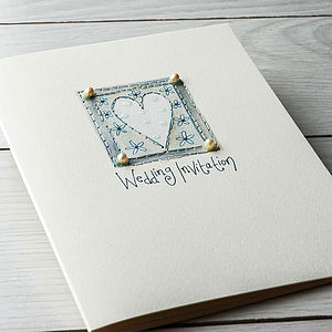 Wedding Invitation Purity