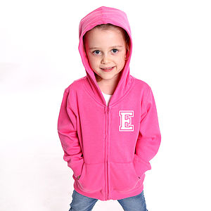 Personalised Child's Zip Up Hoodie