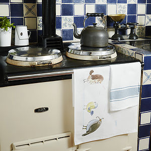 Birds Of A Feather Tea Towel - kitchen accessories