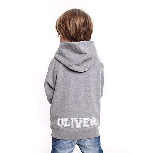 Personalised Child's Name Hoodie - clothing