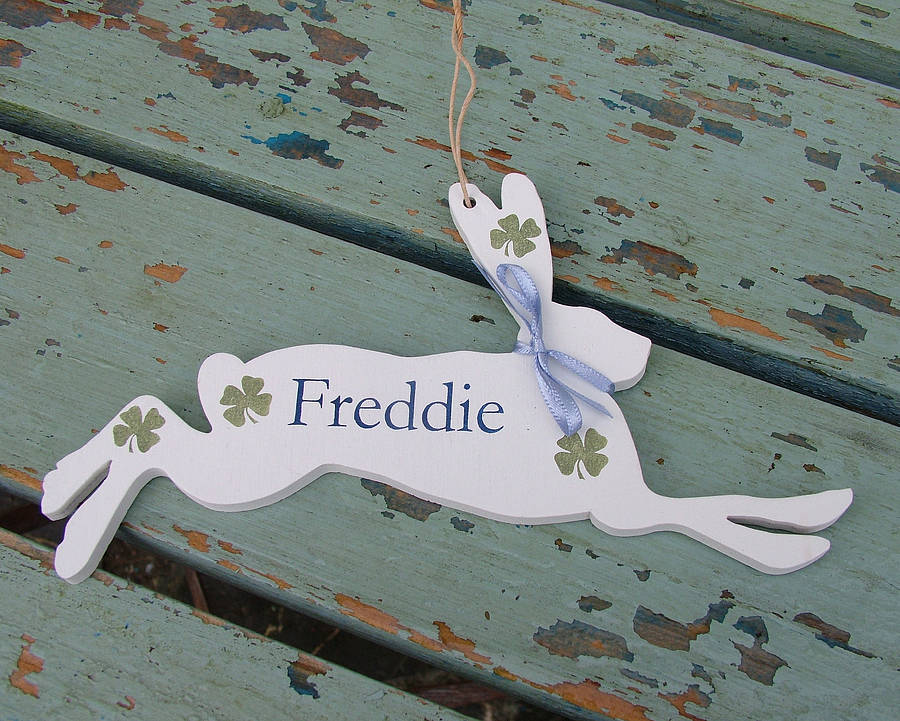 Personalised Lucky Hare