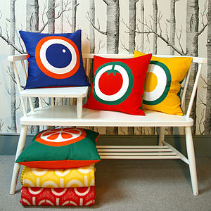 English Breakfast Printed Cushion Covers - home sale