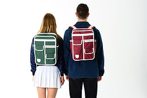 Multi Pocket Retro Backpack - men's accessories