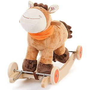 Murphy Plush Rocking And Ride On Horse