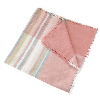 Vintage Stripes Tablecloth