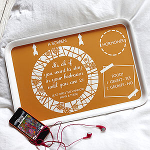 The Teenager Tray - gifts for teenage girls