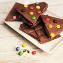 Personalised Chocolate Alphabet Bar
