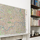 London Cycle Wall Map