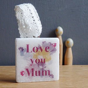 Personalised Marble Love Token