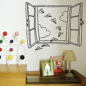 Paper Planes Wall Sticker - wall stickers