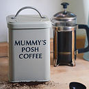 Personalised Enamel Canister