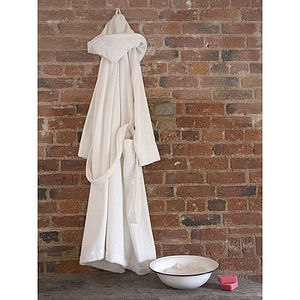 Organic Cotton Spa Robe