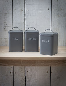Set Of Kitchen Canisters - kitchen