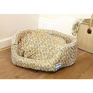 Antibacterial Oval Pet Bed - beds & sleeping