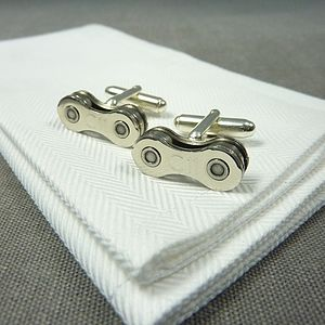 Campagnolo Chorus Bicycle Chain Cufflinks
