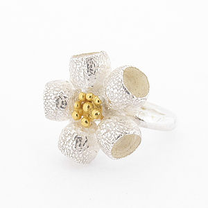 Ophelia Ring Silver