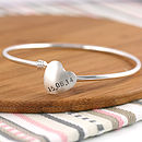 wedding date bangle anniversary gift