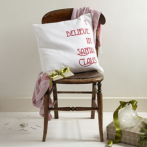 'Santa Claus' Cushion Cover - patterned cushions