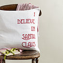 'Santa Claus' Cushion Cover