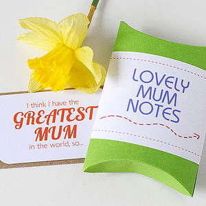 Mum Notes - mother's day gifts