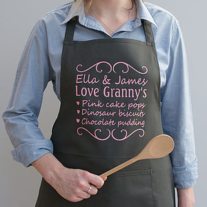 Personalised 'You Make The Best' Apron - kitchen accessories