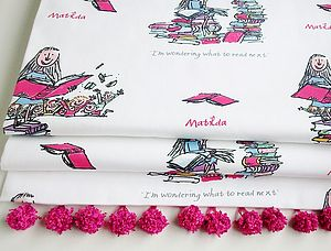 Roald Dahl's 'Matilda' Roman Blind - children's room
