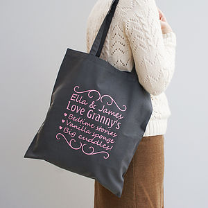 Personalised 'You're The Best' Shopper - view all mother's day gifts