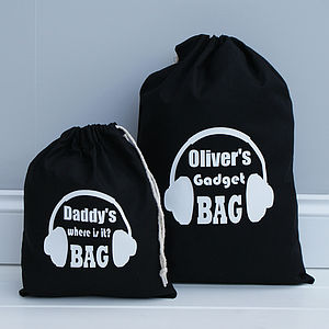 Personalised New Gadget Bag