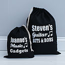 Personalised Music Bag