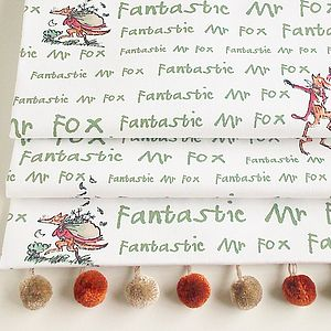 Roald Dahl's 'Fantastic Mr Fox' Roman Blind - bedroom