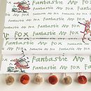 Roald Dahl's 'Fantastic Mr Fox' Roman Blind