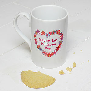Personalised Mother's Day Heart Mug