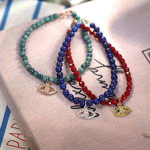 Protection Evil Eye Bracelet - charm jewellery