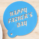 Personalised Fathers Day Coffee Stencil