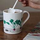 Seasonal Garden Mug Beetroot